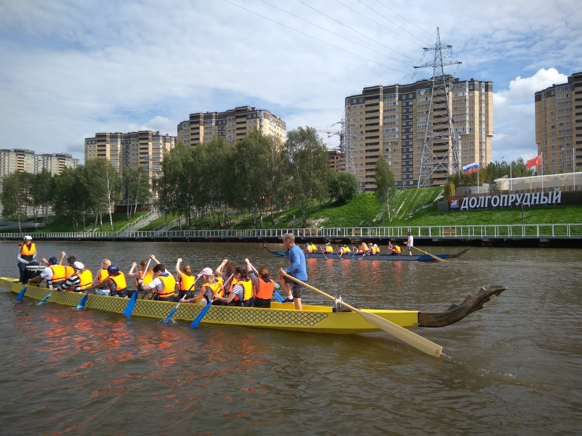 "Лодки ""Dragon Boat""-4"