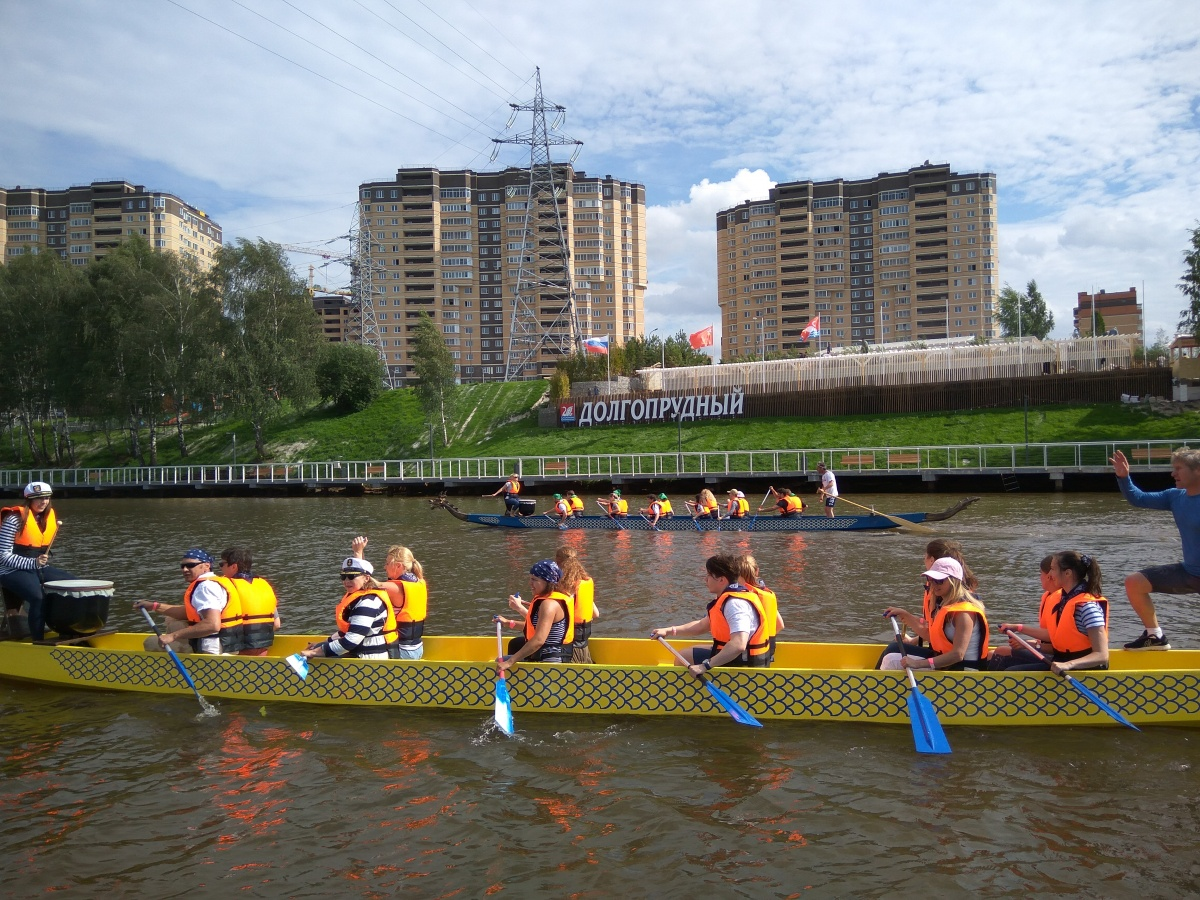 "Лодки ""Dragon Boat""-3"