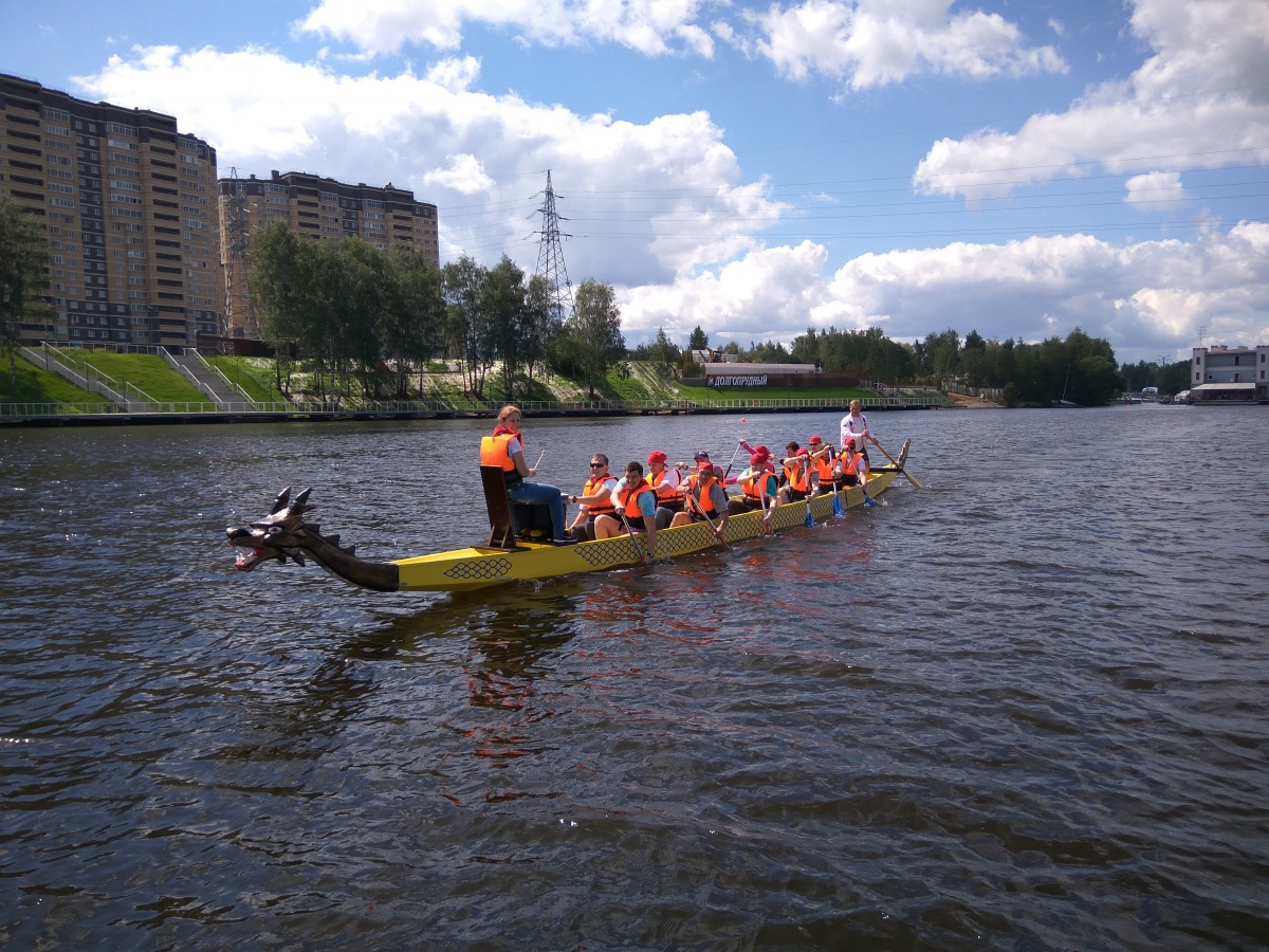 "Лодки ""Dragon Boat""-1"